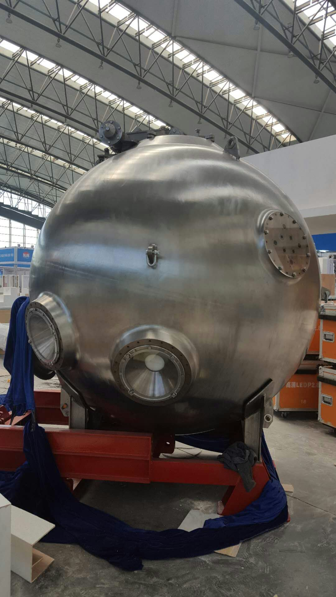 Titanium Material appllied in bathyscaph