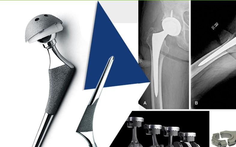 Titanium Bars in Medicial Application